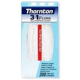 Thornton (ProxySoft) 3 in 1 Floss All Purpose Floss