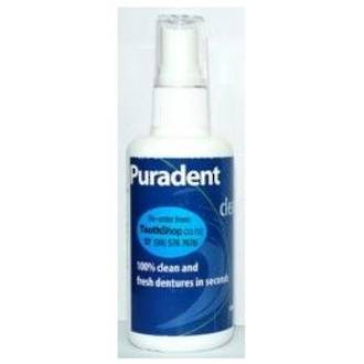 Puradent Clean Denture Cleaner Spray - 100mL