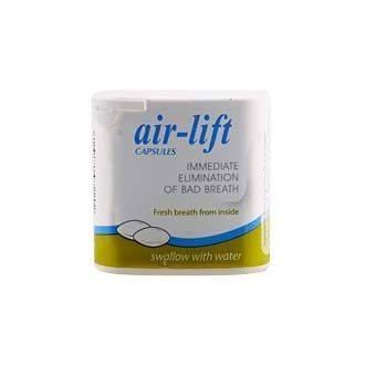 Air-Lift Capsules - Immediate Elimination of Bad Breath