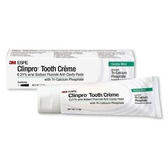 Clinpro Tooth Crème 3M Anti-Cavity Toothpaste 113g