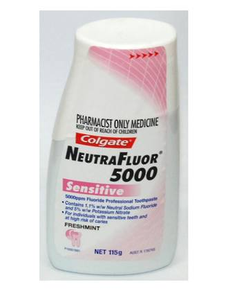 Colgate Neutrafluor 5000 Sensitive Liquid Gel Fluoride ToothPaste