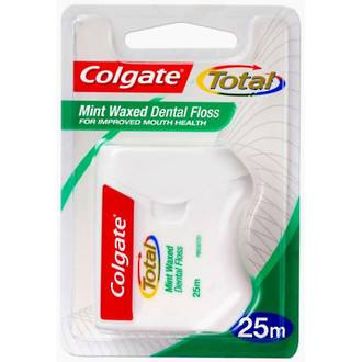 Colgate Total Mint Waxed Dental Floss