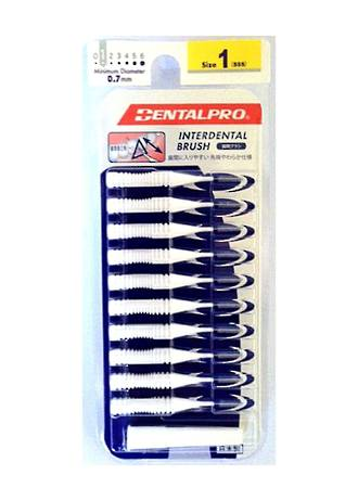 Dental Pro Jacks Interdental Brush Size 1 (XXS) White