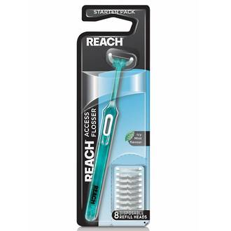 Reach Access Daily Flosser - Cleanpaste starter pack