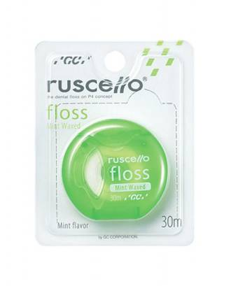 GC Ruscello Floss 30m Mint Waxed Green