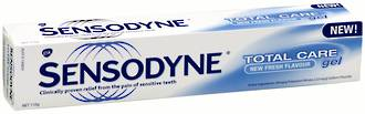 Sensodyne Daily Care Gel Toothpaste (Previously Total Care Gel)