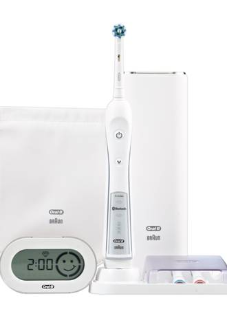 Oral-B WHITE 7000 SmartSeries Bluetooth Electric Toothbrush with SmartGuide