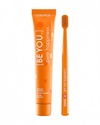 Curaprox Be You PURE HAPPINESS Orange Combo Pack