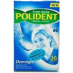 Polident Fresh Active Overnight Denture Cleanser