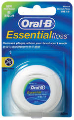 Oral-B Essential Floss Waxed Floss 50m/100m