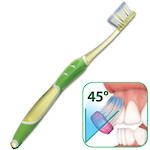 GUM Sunstar (Butler) Technique Pro Deep Clean Soft Compact Head Manual Toothbrush