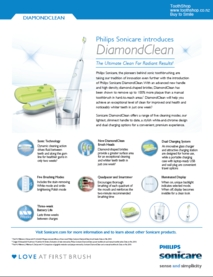 Philips Sonicare Diamondclean Fact Sheet Pdf