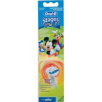 Oral-B Disney Mickey Mouse Characters Toothbrush Heads (2 pack) - Bulk Buy 3 Packs