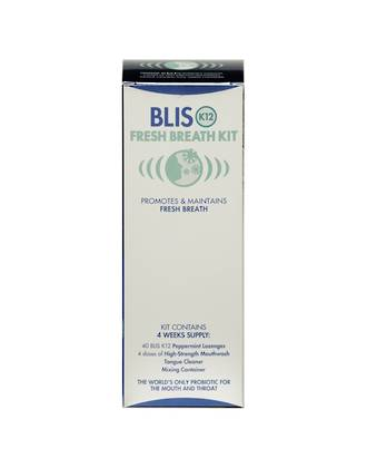 Bad Breath Treatment - BLIS K12 Fresh Breath Kit