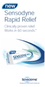 Sensodyne Rapid Relief Brochure